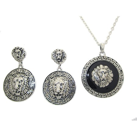 Earrings and Pendant Set 2 pcs