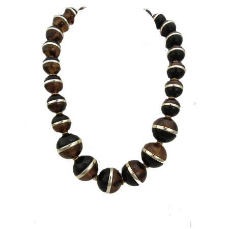 Genuine Coldwater Creek large bead necklaces: