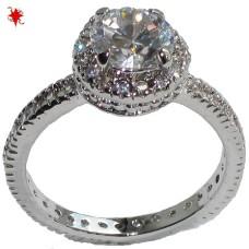 Natalie Style Wholesale Ring Swarovski Crystal