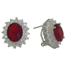 Princess Kate & Princess Diana Earrings Ruby