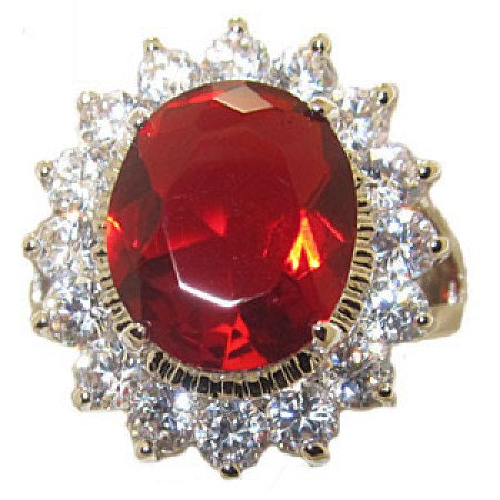 Princess Kate And Di Engagement Wholesale Ring Ruby