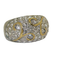 Two Tone Designer Ring