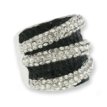 Wrap Austrian Crystal Designer Ring