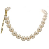 Pearl Adjustable Pearl Necklace 18 inches 12 mm