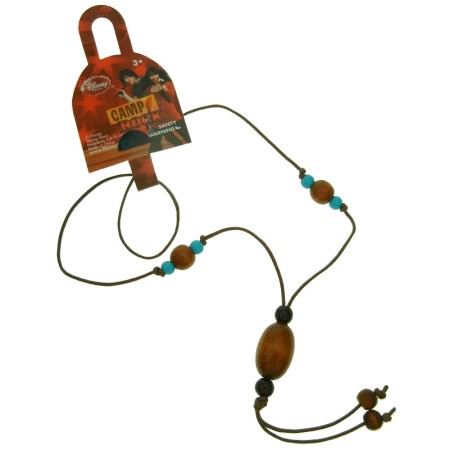 Authentic Disney Camp Rock Necklace on Leather