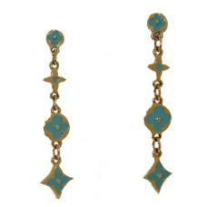 Designer Wholesale Earring in Enamel