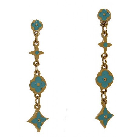 Designer Wholesale Earring in Enamel
