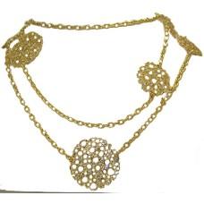 Potatoe Clip Necklace