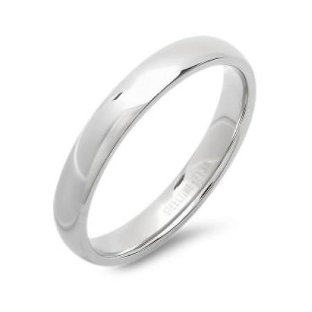 Steel Slim Wedding Band Ring wholesale jewelry