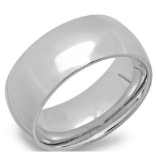 Steel 8 mm Wedding Band Ring wholesale jewelry