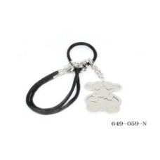 Stainless Steel Women's Teddy Bear Wholesale Necklace