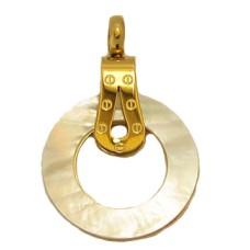 Stainless Steel Screw Pendant