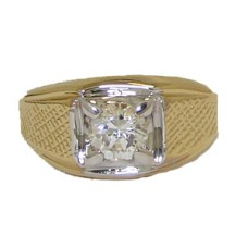 Yellow Gold Men's High Quality in Cz's Wholesale Rings