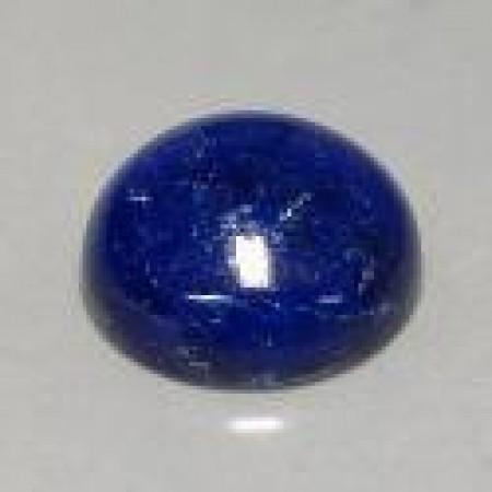 3 - 18 mm Round Flat Back Lapis Lazuli