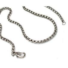 Silver Designer Chain 18 inches