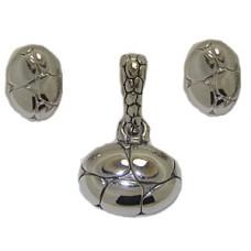 MX Enhancer Charm Earring & Necklace Set