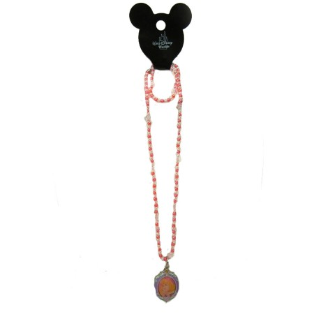 Authentic Disney Necklace with Oval Character Locket