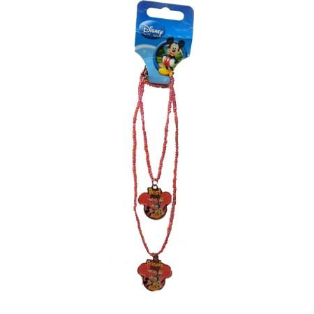 Authentic Disney Double Row Mickey Necklace