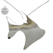 Sterling Silver Fish Pendant And Chain