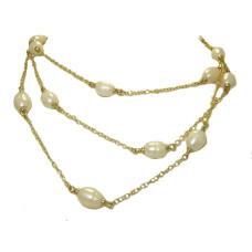 Wholesale MX Signature Collection 48 Fresh Water Pearl Necklace
