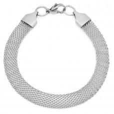 Ladies Stainless Steel Bracelet Mesh
