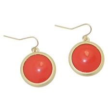 MX Orange Earrings