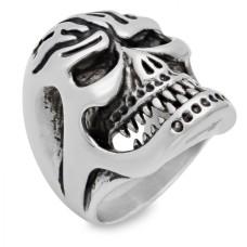 Men's Stainless Steel Skull Ring