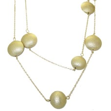 MX Signature Collection wholesale necklace in Brushed Gold