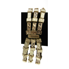 Chicos 3 Strand Gold  Bracelets