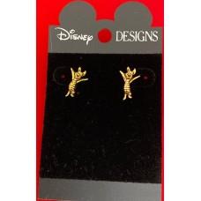 Disney earrings Piglet on Disney card