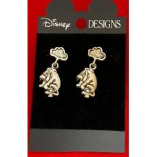 Disney earrings Eeyore on Disney card