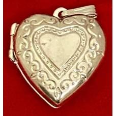 Sterling Silver lockets 20 mm 925 Sterling Silver