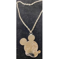 Disney Mickey Mouse pendant necklaces SILVER