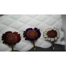 Cloisonne Multi Colored Sun Flower Bookmark
