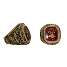 NEW Men's Elks Ring is Gold Plated, Men's ring 14 karat Heavy Gold