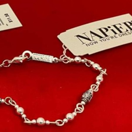 Napier Bracelet with jewelers mark and tagged