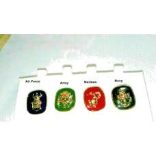 Military Tack Pin Army, Navy, Air Force and Marines