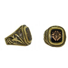 Men's Knights of Columbus Ring is Gold Plated