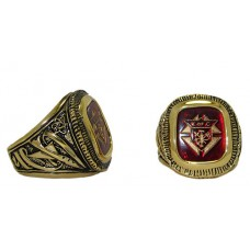 Men's Knights of Columbus Ring is Gold Plated NWT