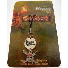 Authentic Disney Pirates of the Caribbean Cell Phone Fob/Key Chain