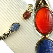 Genuine Scarab Bracelet