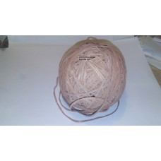 Tan Leather 2 mm Flat Cord 100 foot Ball