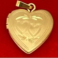 Gold filled locket 20 mm size