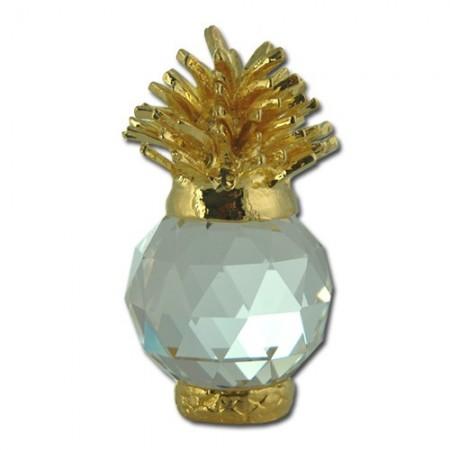 Pineapple figurine in exquisite Crystal Zoo handmade Bohemian lead crystal
