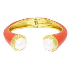 MX Signature Collection Bangle Bracelet set with Pearl