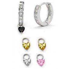 Wholesale Charms For Earrings 3 Pair