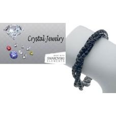 Genuine Swarovski Black crystal wholesale bracelet