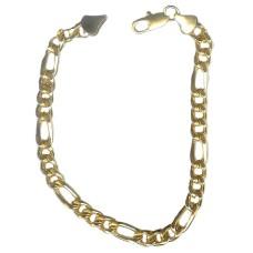 Soprano Bracelet Italilan Link yellow gold