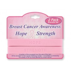 Breast Cancer Awareness Band Bracelet