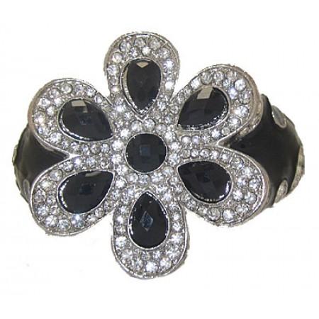 Austrian Crystal Bracelet hinged